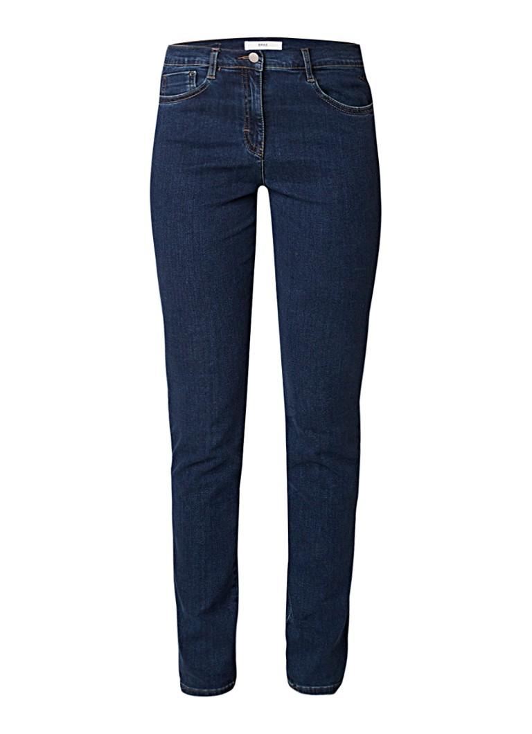 Brax Shakira mid rise skinny fit jeans met stretch