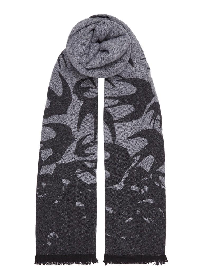 McQ Alexander McQueen Reversible sjaal in wolblend 200 x 80 cm