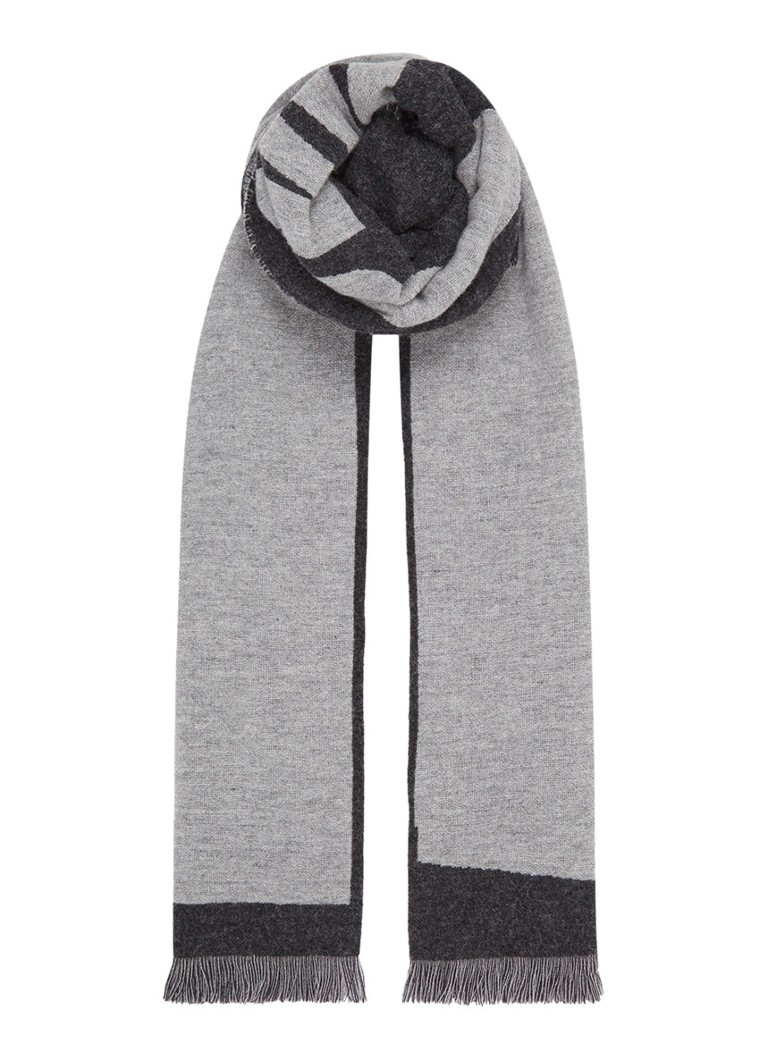 McQ Alexander McQueen Reversible sjaal in wolblend 200 x 50 cm