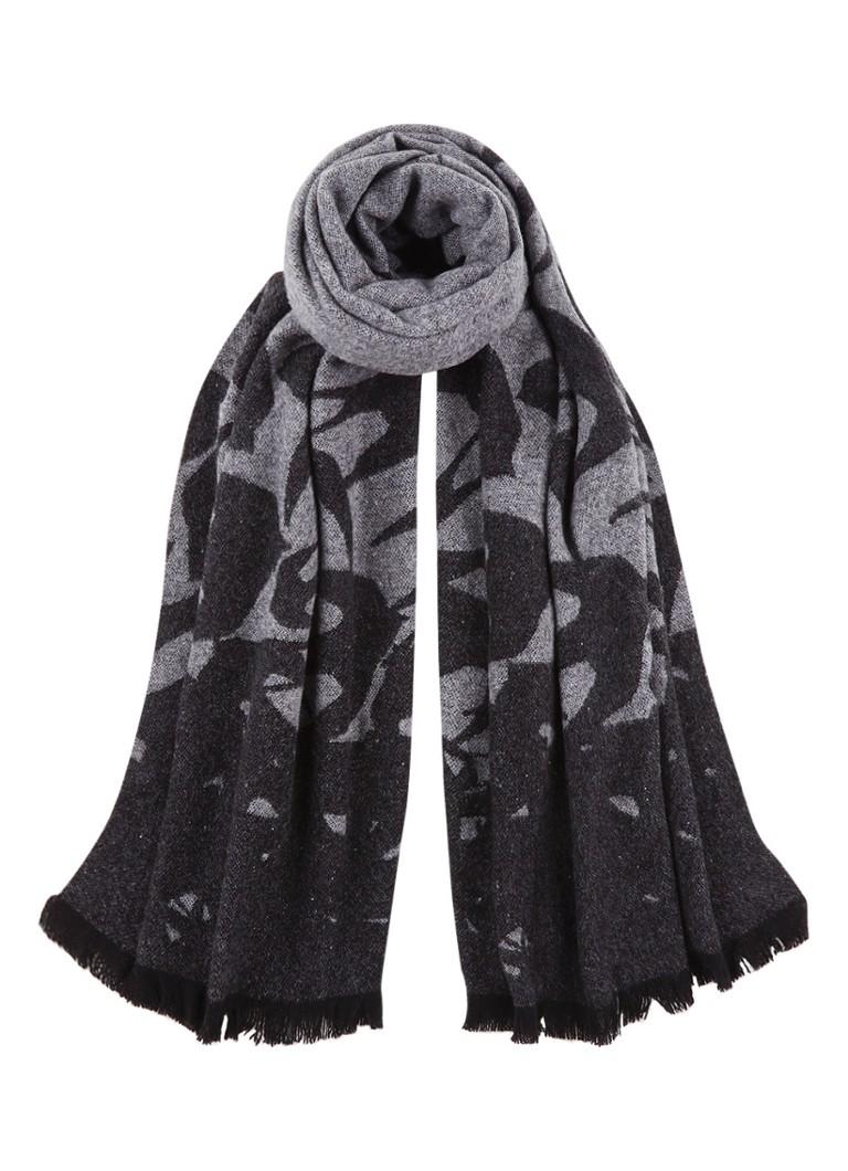 McQ Alexander McQueen Swallow sjaal in wolblend 200 x 75 cm