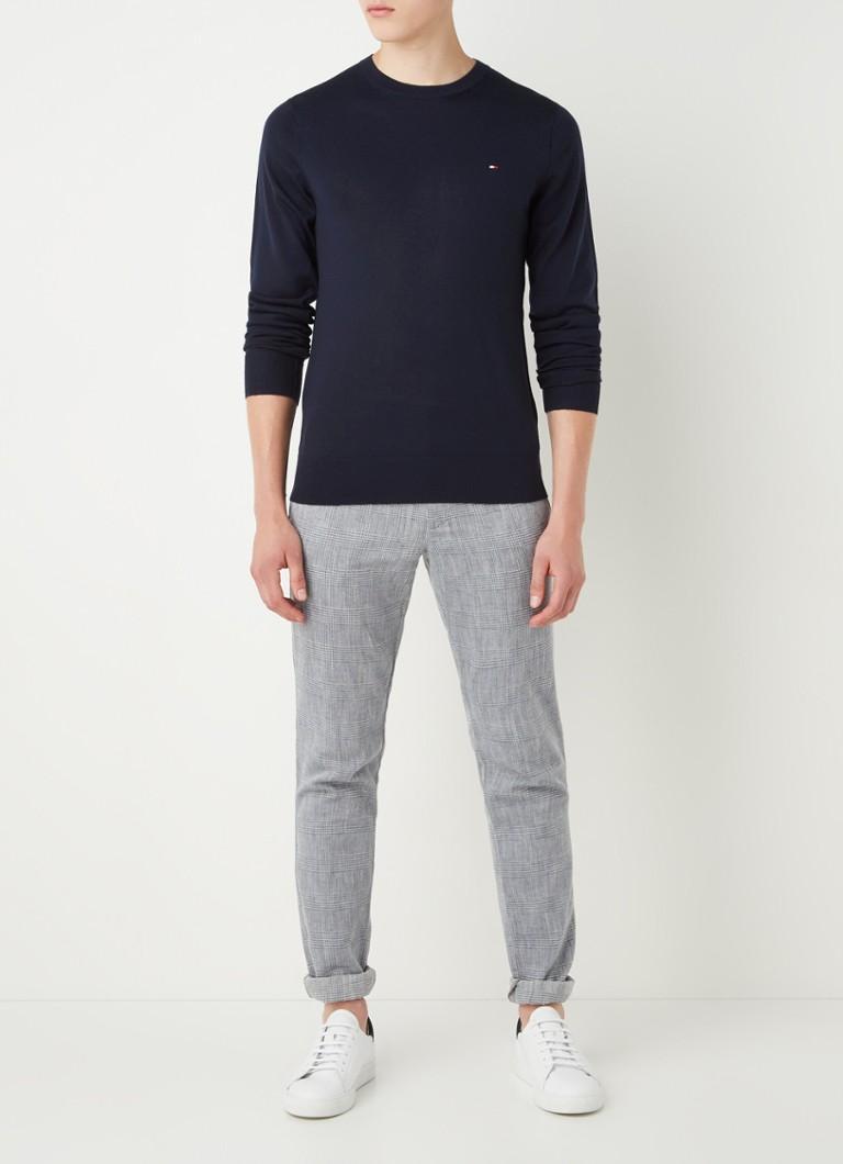 Tommy Hilfiger Fijngebreide pullover in wolblend