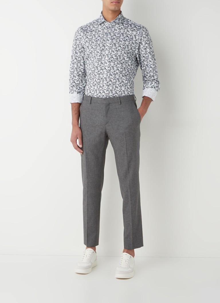 Tommy Hilfiger Slim fit overhemd met bloemenprint