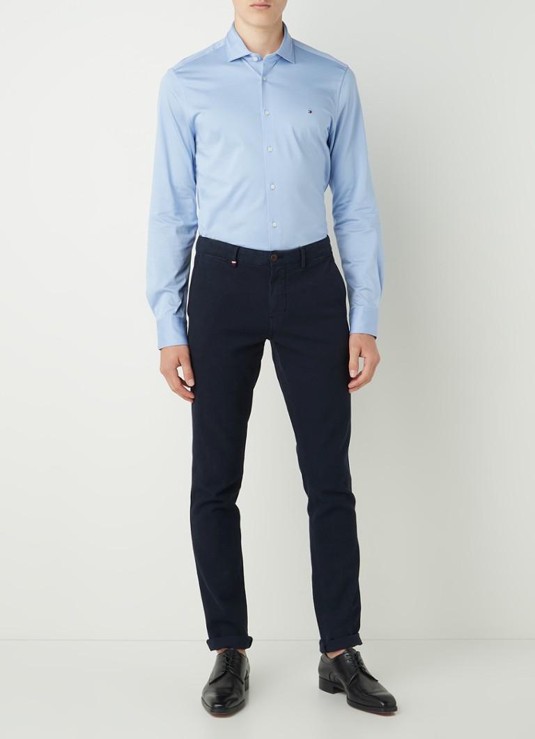 Tommy Hilfiger Slim fit overhemd met stretch