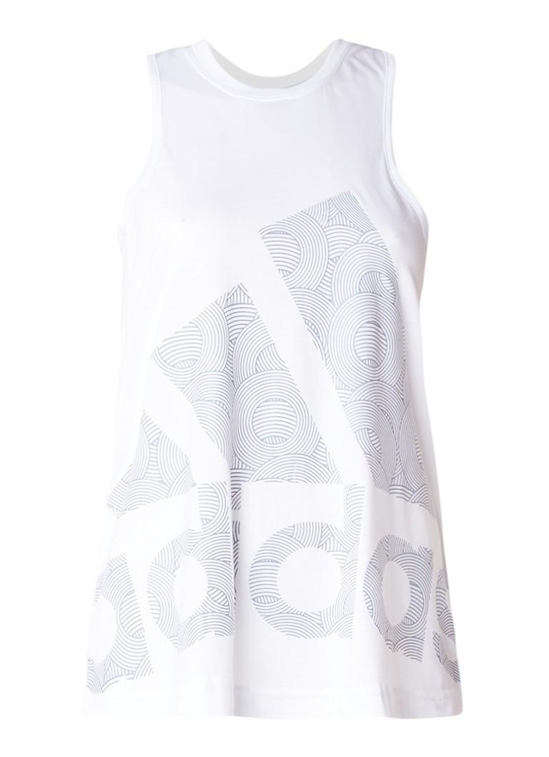 adidas Tanktop met grafische logoprint