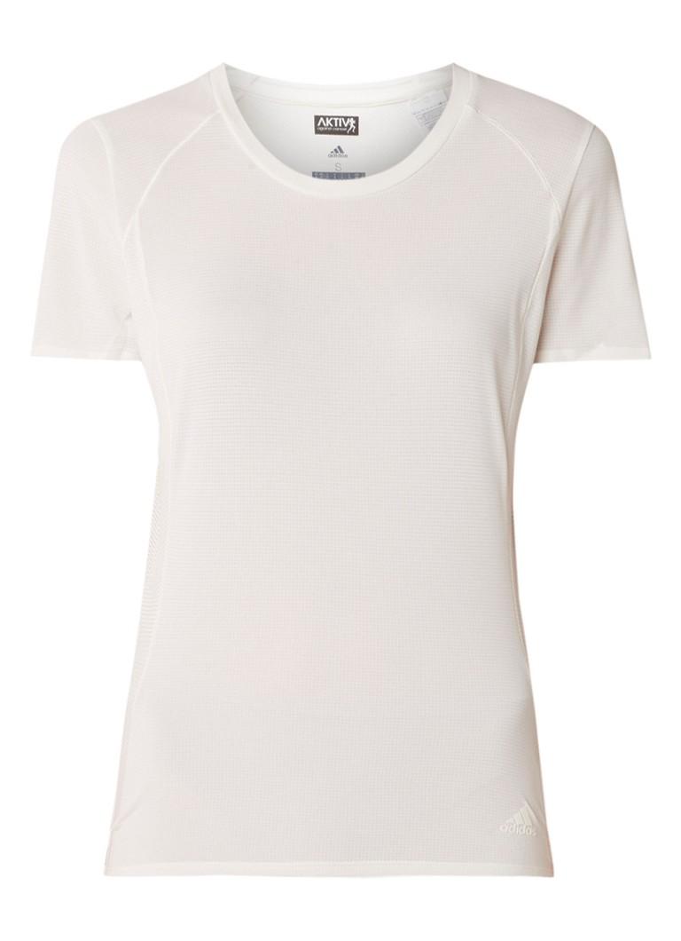 adidas Franchise Supernova hardloop T-shirt met mesh