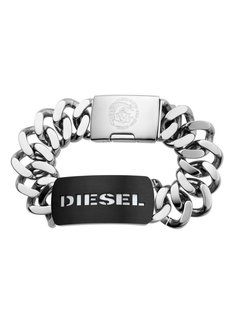 Diesel Heren schakelarmband van roestvrijstaal