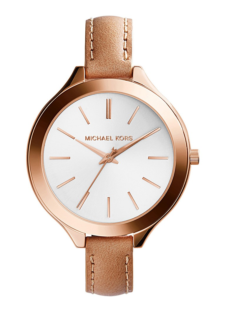 Michael Kors Horloge Slim Runway