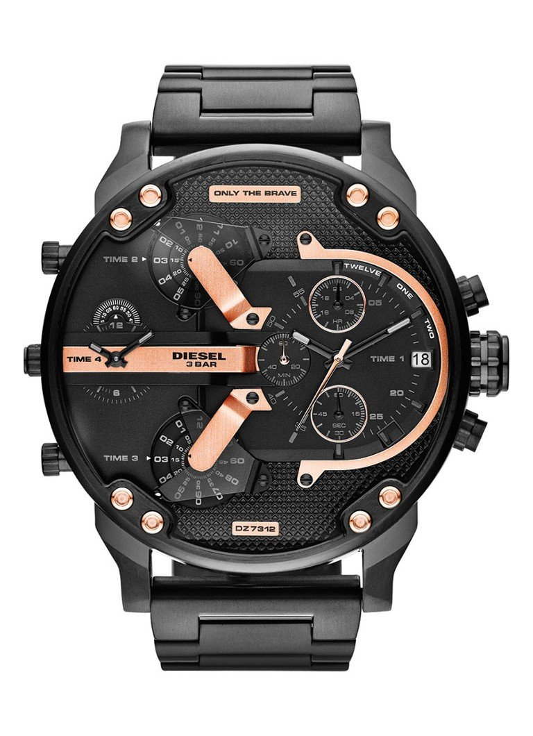 Diesel Horloge Mr  Daddy 2 0 DZ7312
