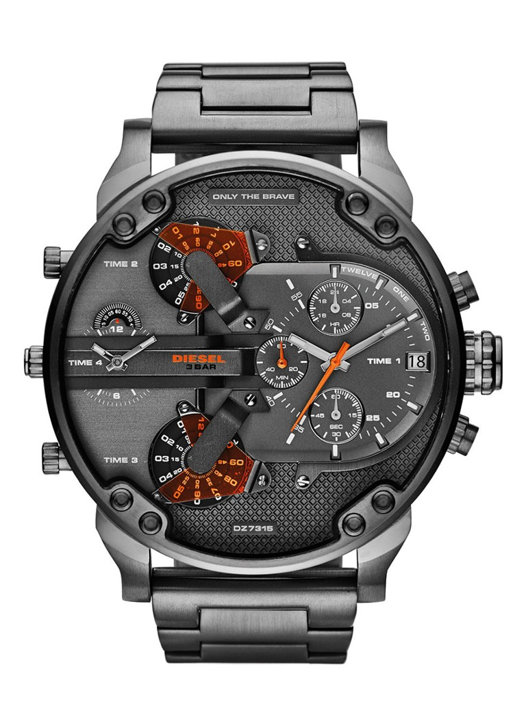 Diesel Horloge Mr  Daddy 2 0 DZ7315