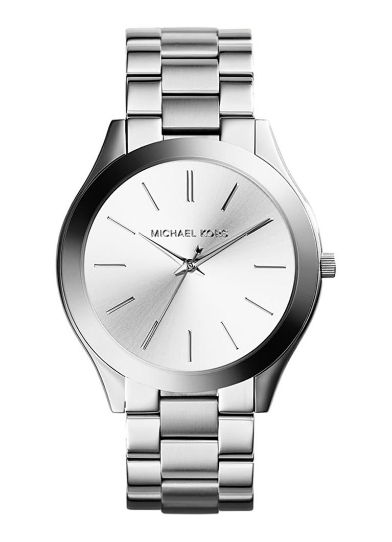 Michael Kors Horloge Runway zilverkleurig MK3178