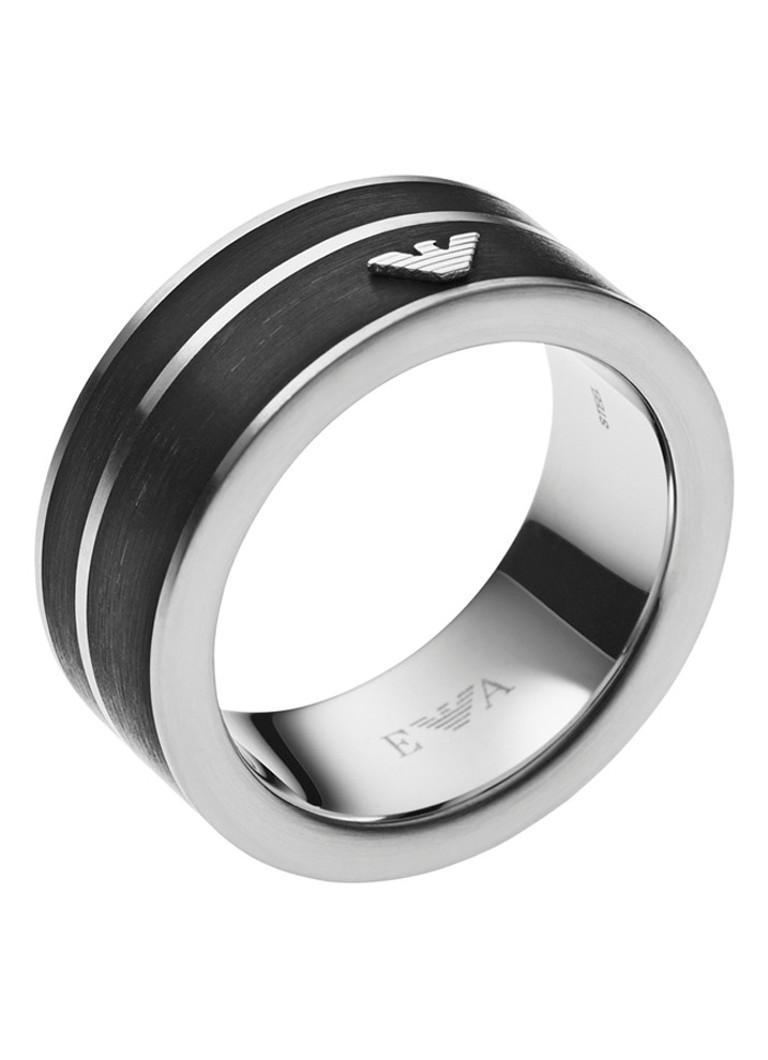 Emporio Armani Ring van roestvrij staal EGS2032040 kopen