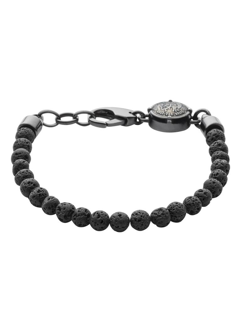 Diesel Armband van lavasteen