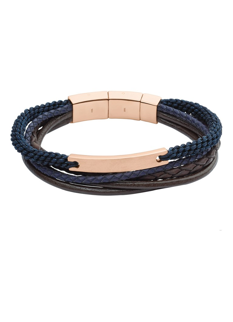 Fossil Armband van roestvrij staal