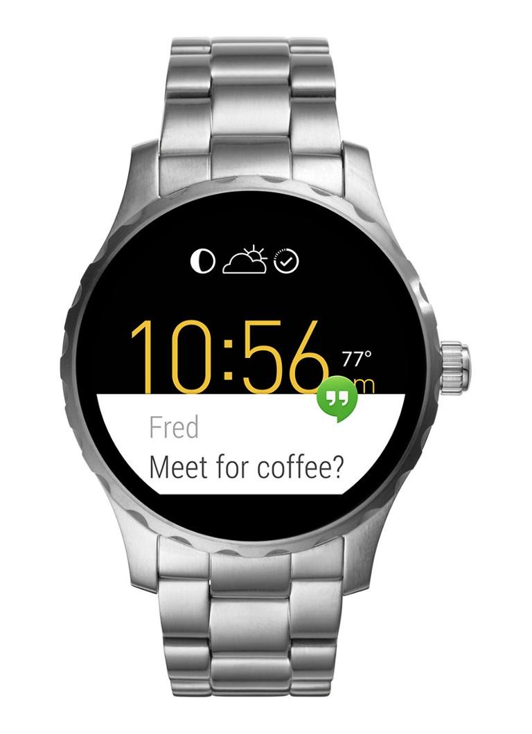 Fossil Smartwatch horloge Q Marshal FTW2109