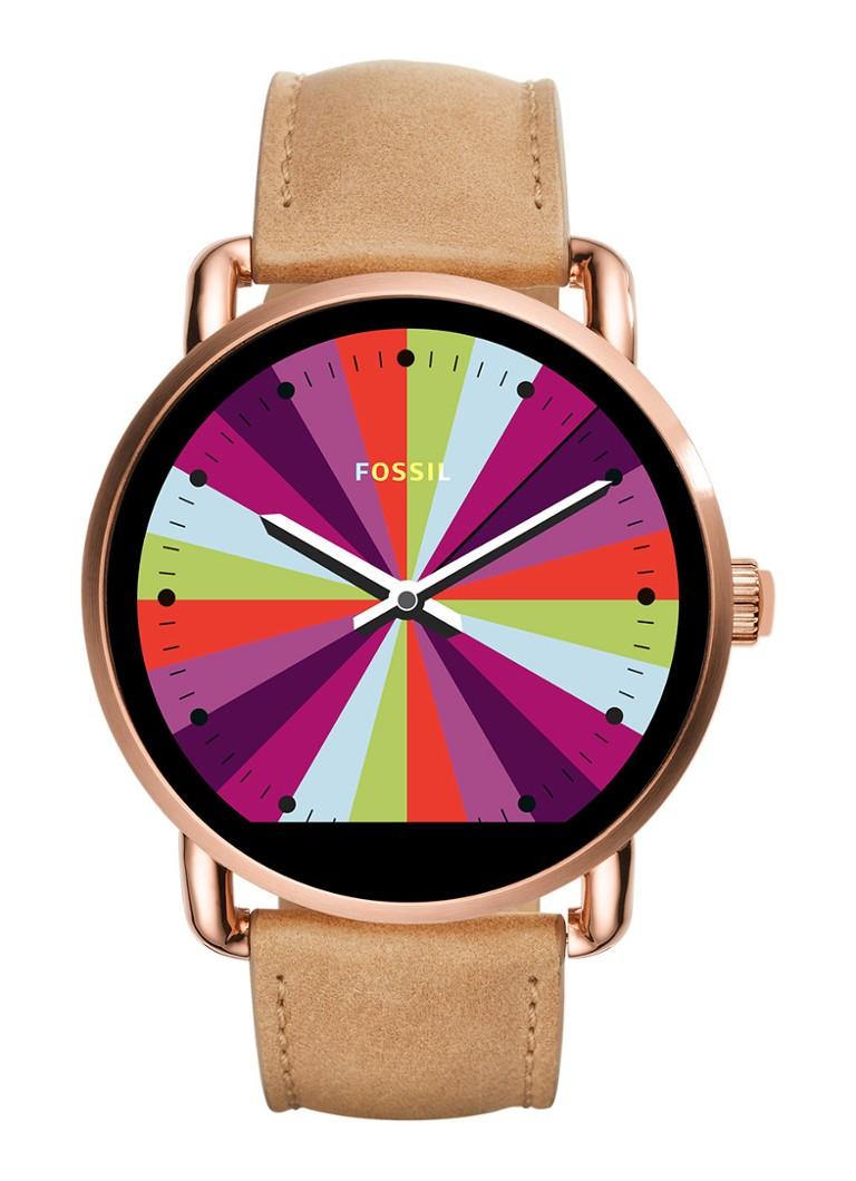 Fossil Smartwatch horloge Q Wander FTW2102