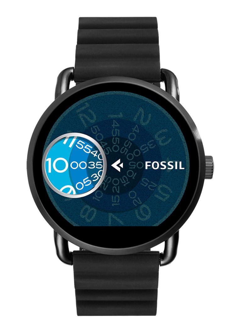 Fossil Smartwatch horloge Q Wander FTW2103