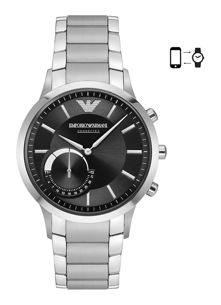 Horloges Armani Hybrid Smartwatch ART3000 Antraciet