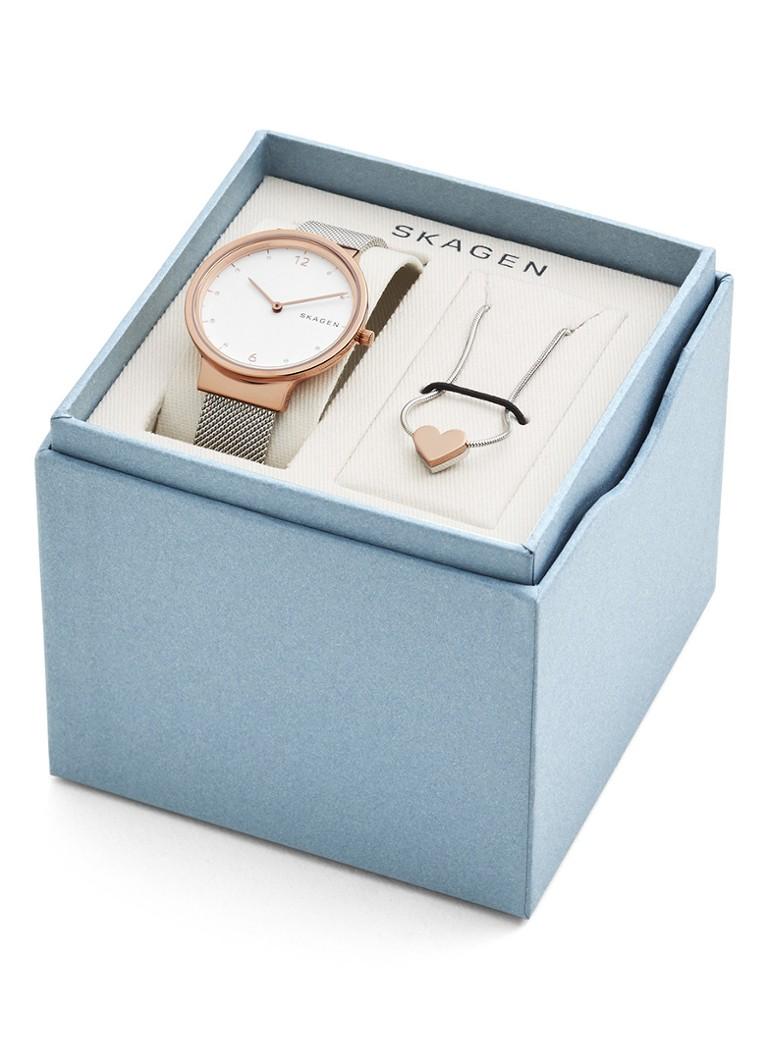 Skagen Giftbox Valentijn Horloge & Collier SKW1086
