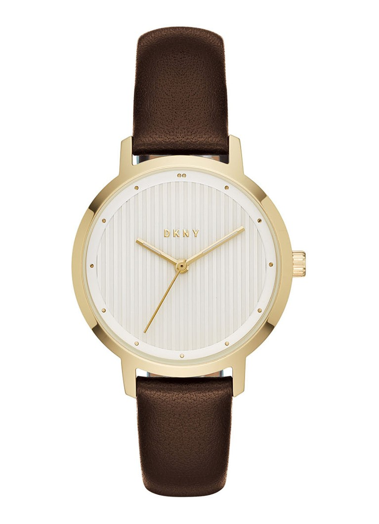 Horloges DKNY Horloge The Modernist NY2639 Donkerbruin