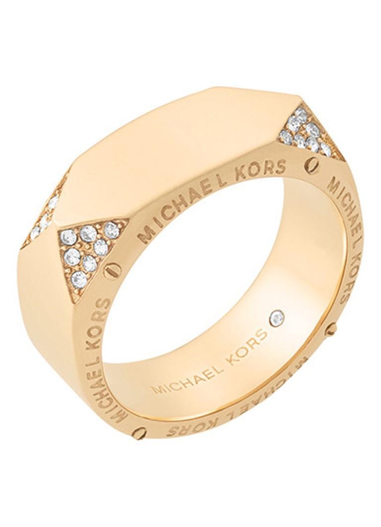 - Michael Kors Ring Beyond Brilliant van roestvrij staal MKJ6755710