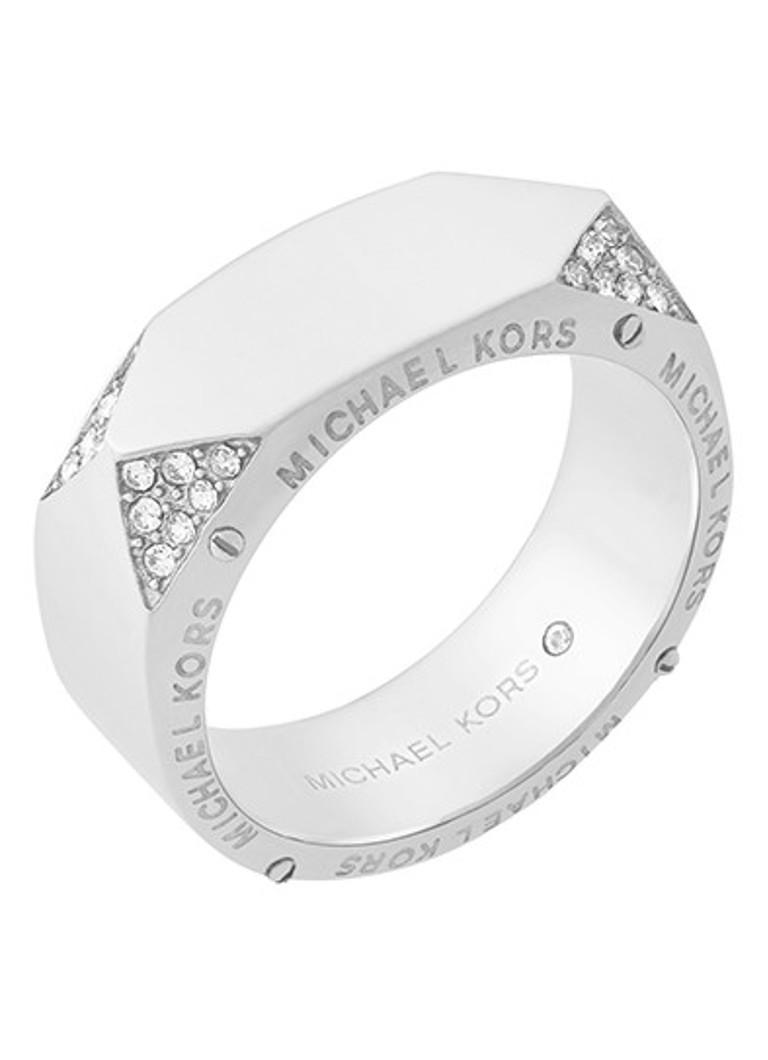 - Michael Kors Ring Beyond Brilliant van roestvrij staal MKJ6756040