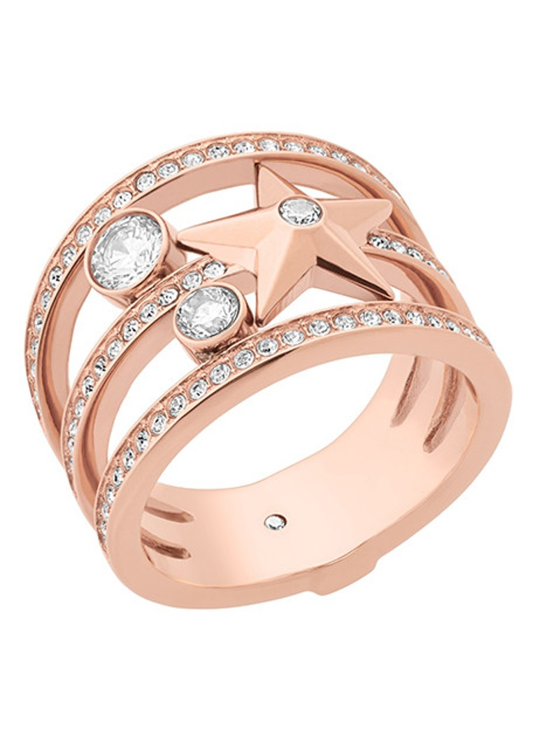 - Michael Kors Ring Beyond Brilliant van roestvrij staal MKJ6736791