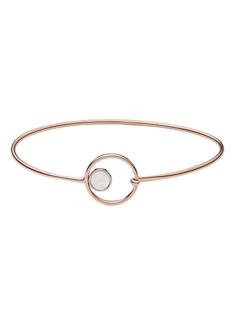 Skagen Agnethe armband van met parelmoer SKJ1100791