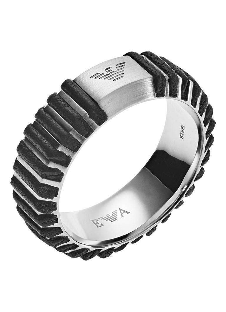 Armani Emporio Armani ring van roestvrijstaal EGS2537040