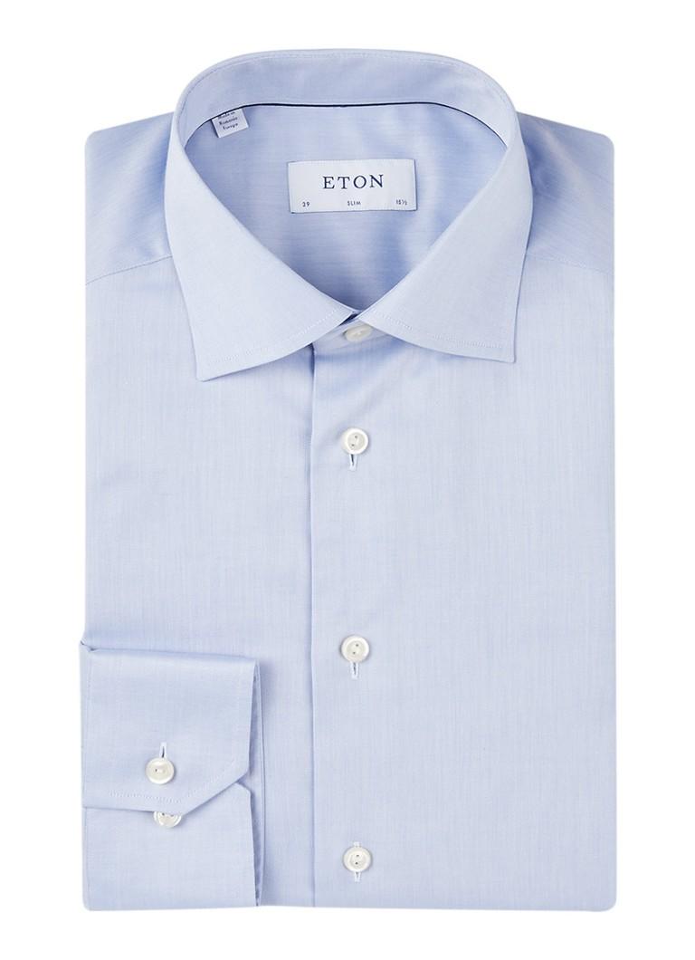 Eton Slim fit overhemd van katoen