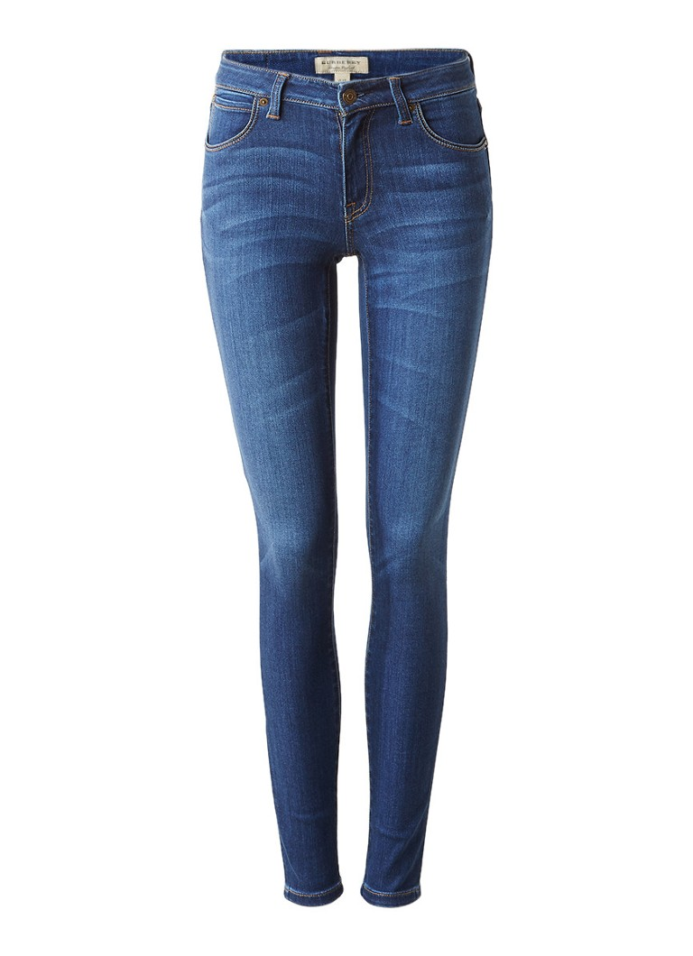 BURBERRY Mid rise skinny jeans in medium wassing