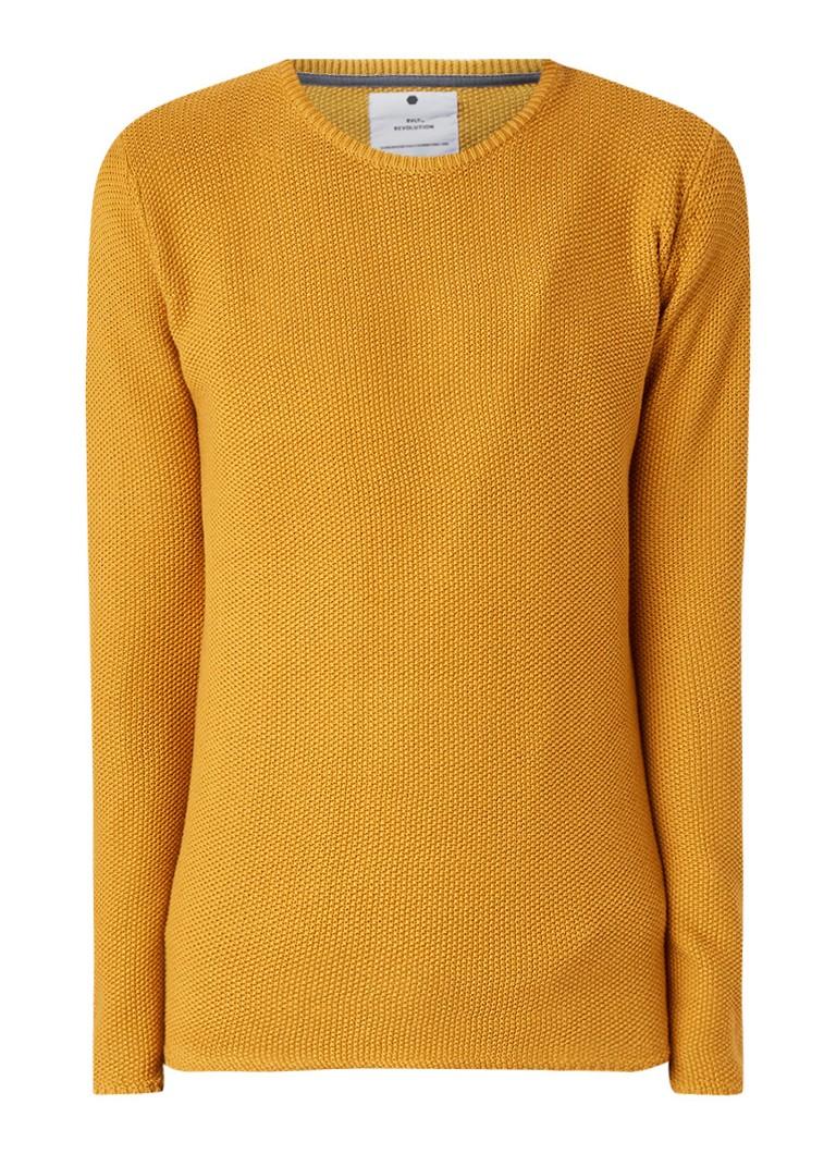 RVLT Revolution Orla fijngebreide pullover van katoen
