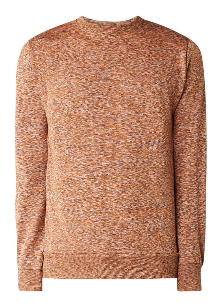 RVLT Revolution Gemêleerde sweater in katoenblend