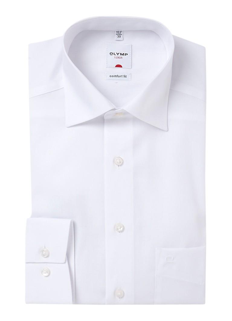 Olymp Strijkvrij comfort fit overhemd met steekzakje