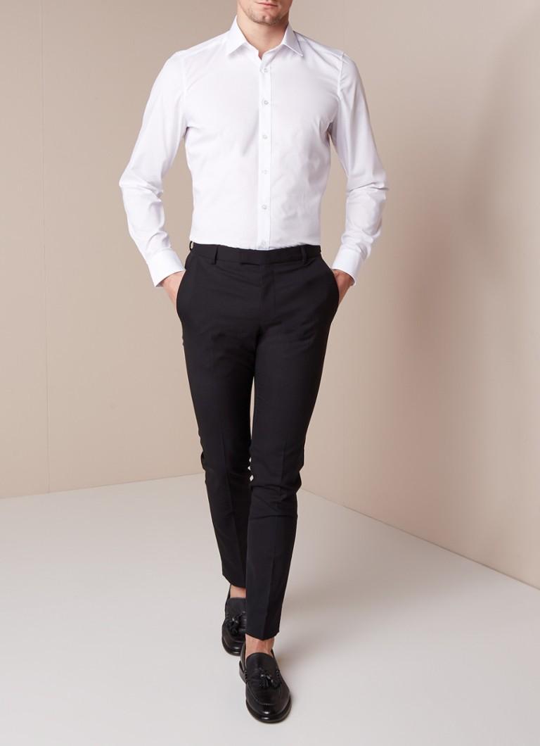 Olymp Body fit strijkvrij overhemd met stretch