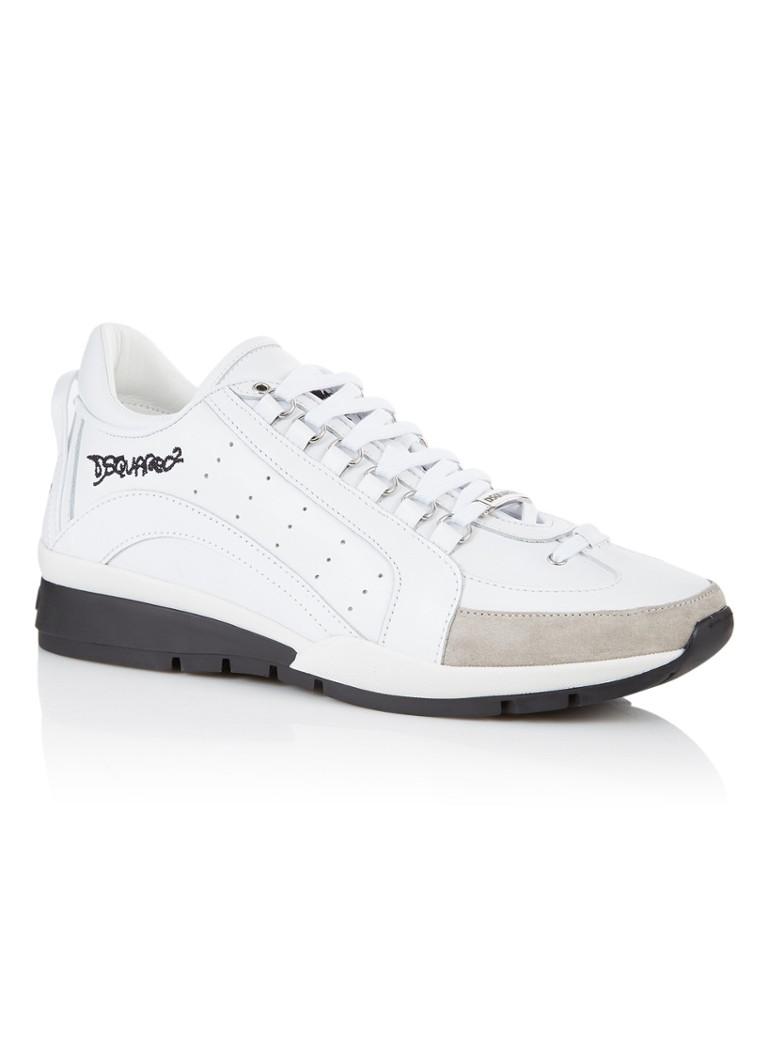 Image of Dsquared2 551 sneaker van kalfsleer