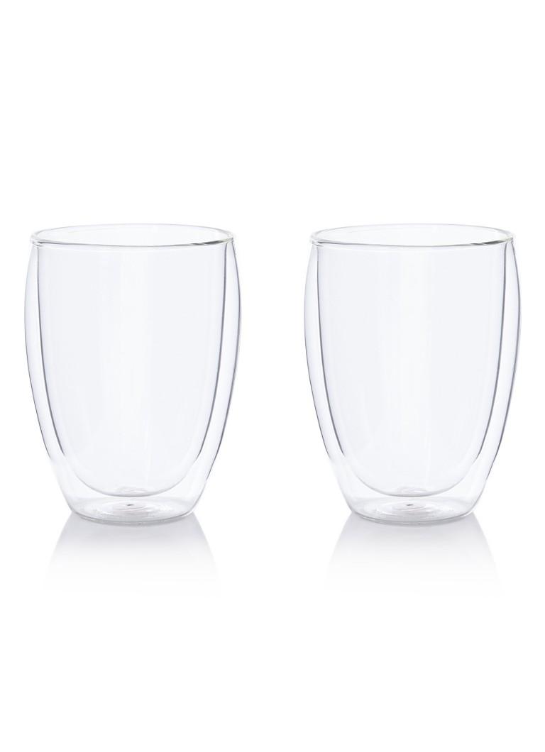 Bodum Pavina thermoglas 350 ml set van 2