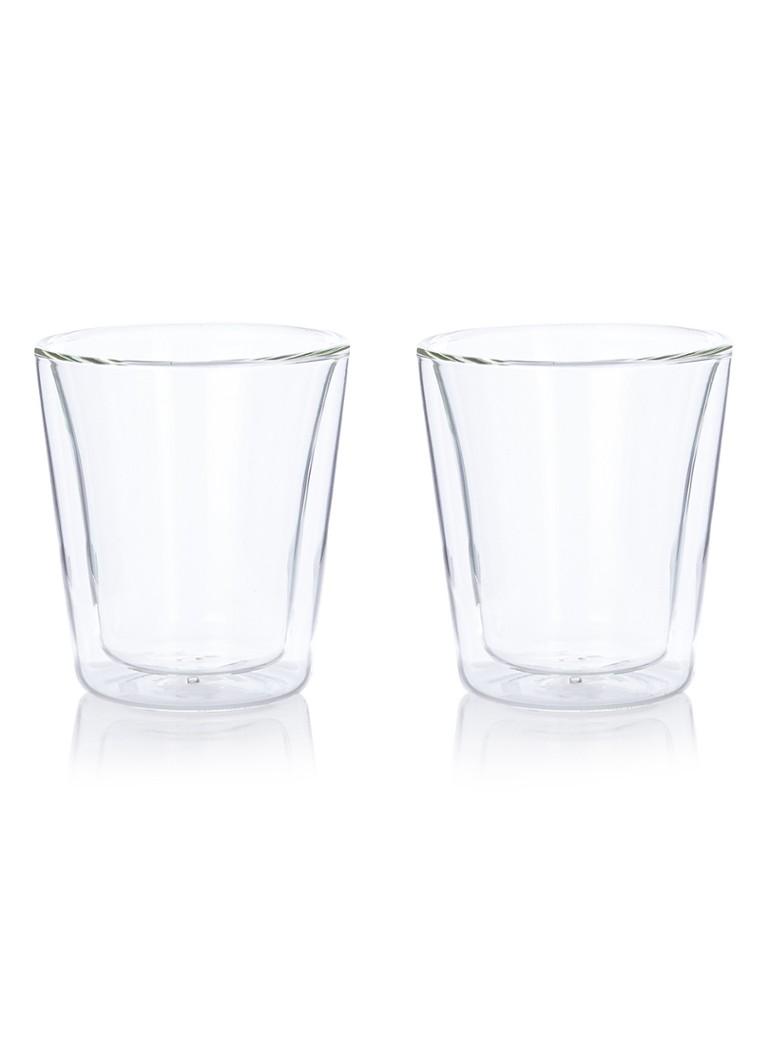 Bodum Canteen dubbelwandig glas 20 cl set van 2