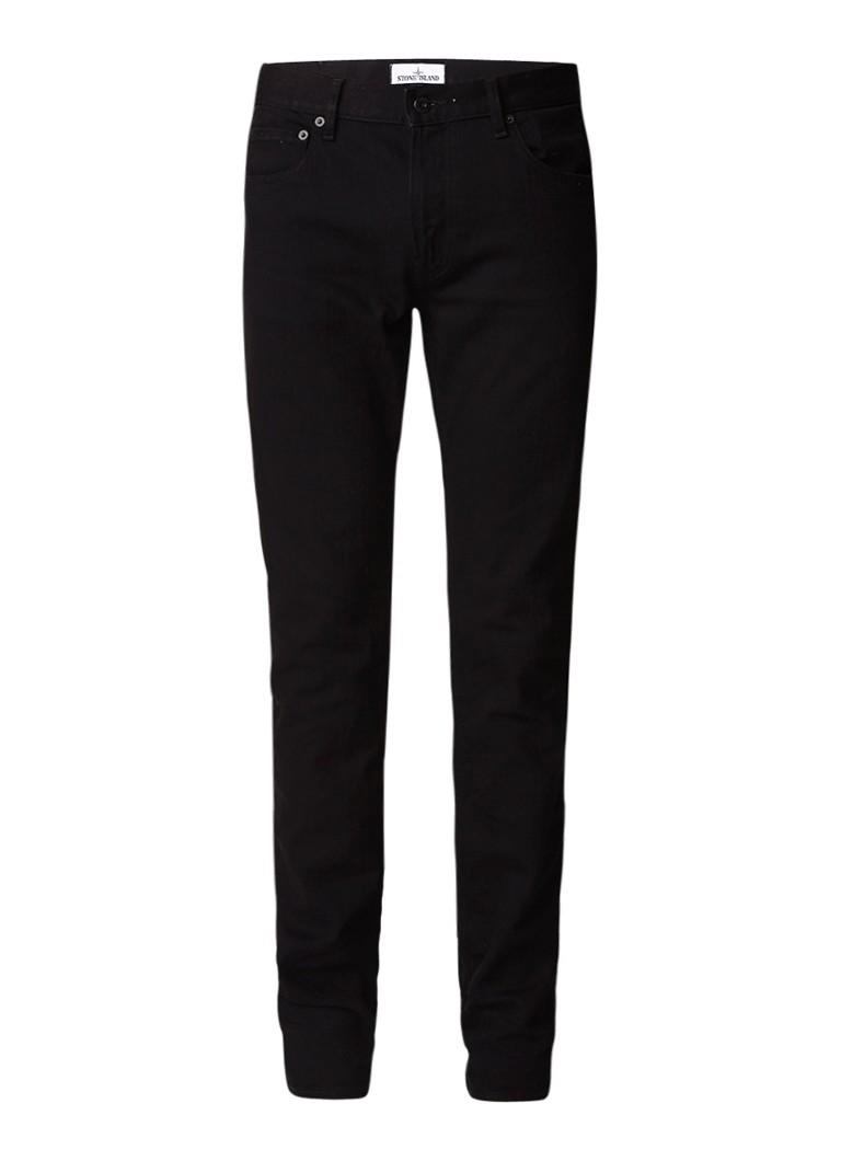 Stone Island J2ZQ1 Mid rise skinny fit jeans met stretch