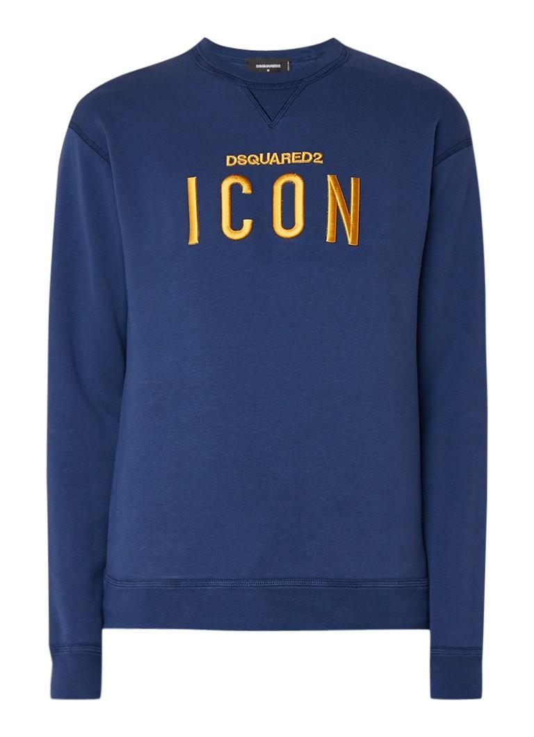 Dsquared2 Icon sweater met borduring
