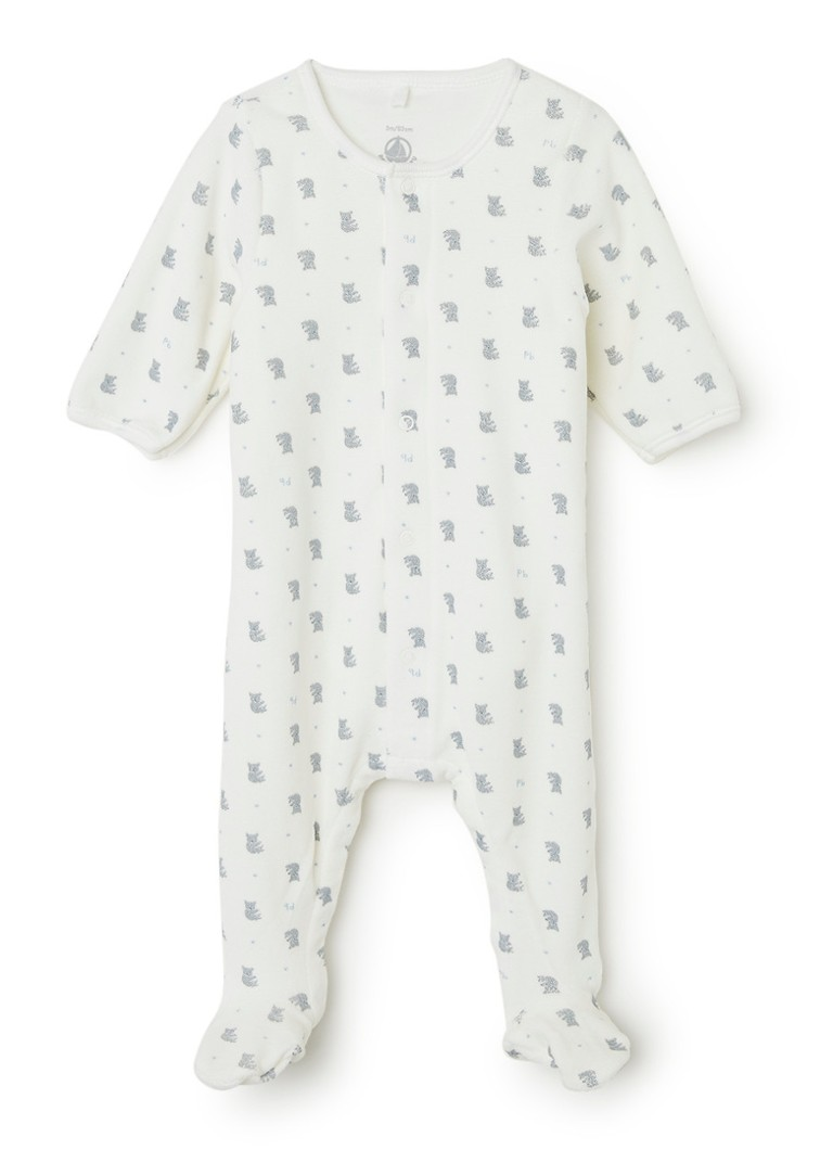 Petit Bateau Babypak van katoen met print