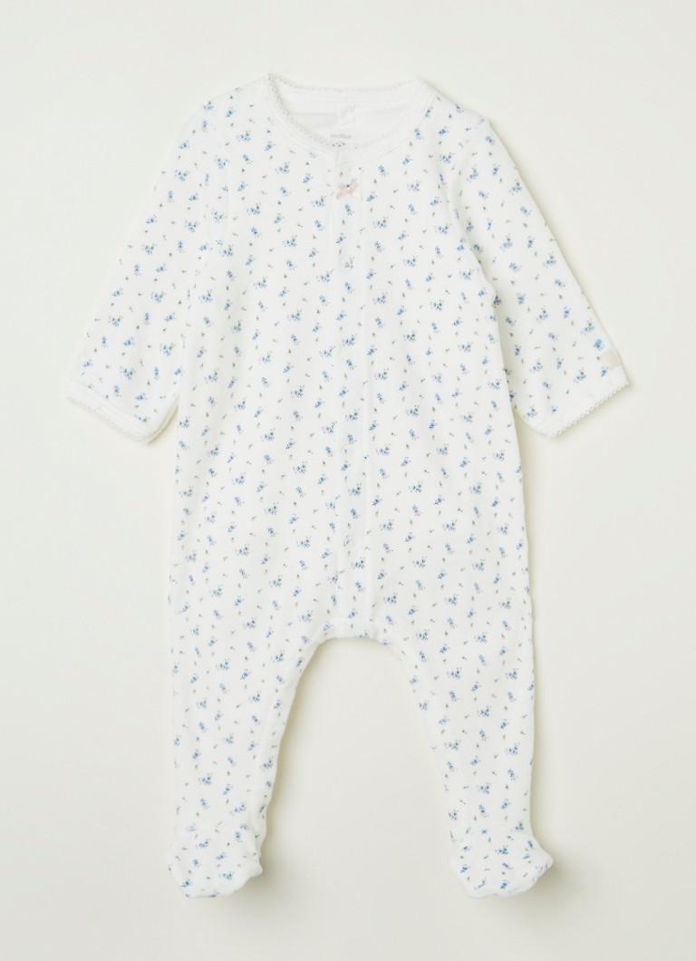 Petit Bateau Babypak met romper en print