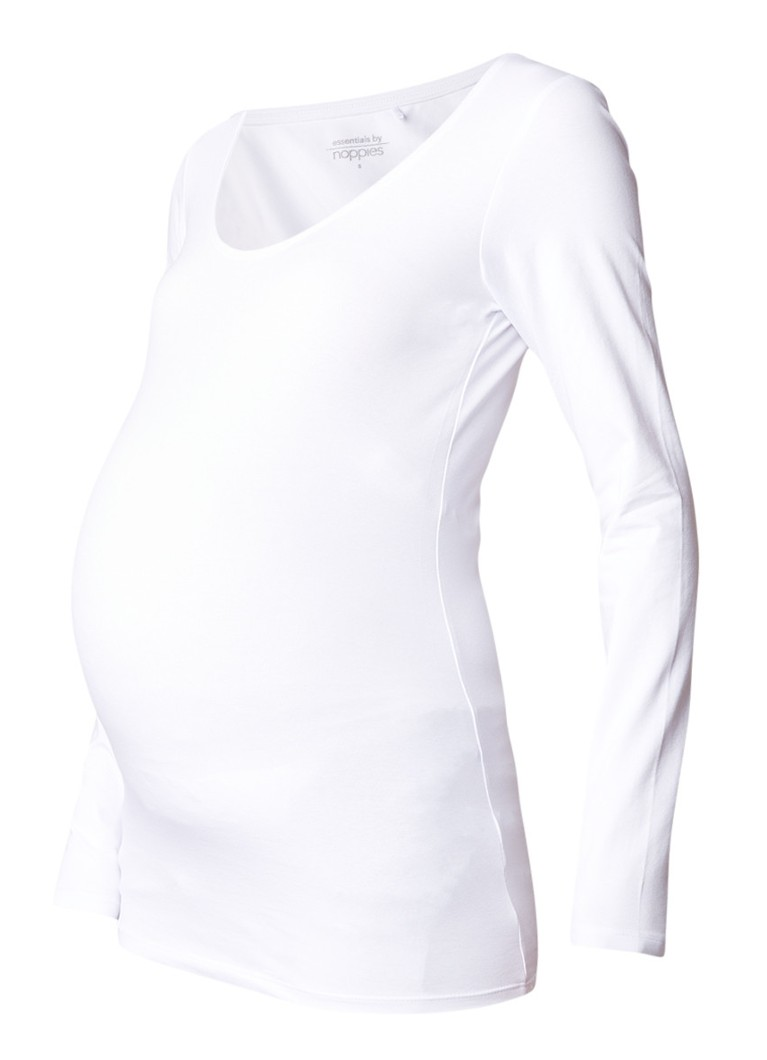 Noppies Amsterdam zwangerschapslongsleeve met ronde hals