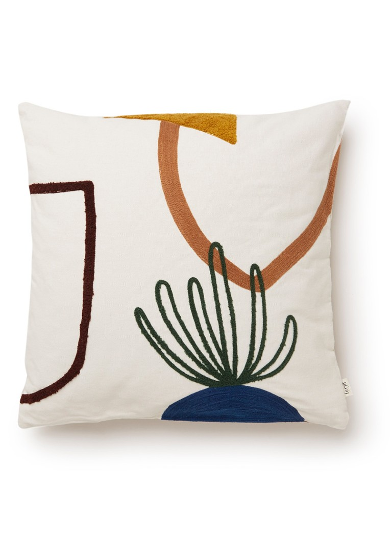 Image of Ferm Living Mirage Cushion Island sierkussen 50 x 50 cm