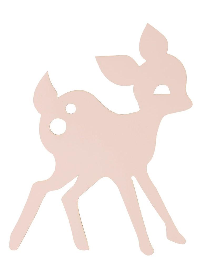 Ferm Living My Deer wandlamp LED roze