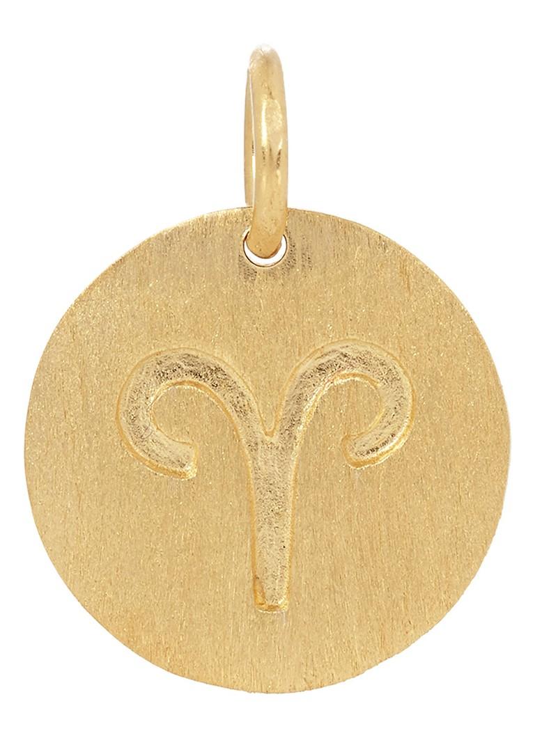 Sieraden Pernille Corydon Hanger Aries Goud