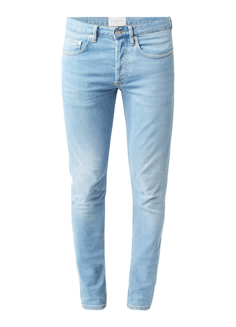 Sandro Skinny fit jeans met lichte wassing