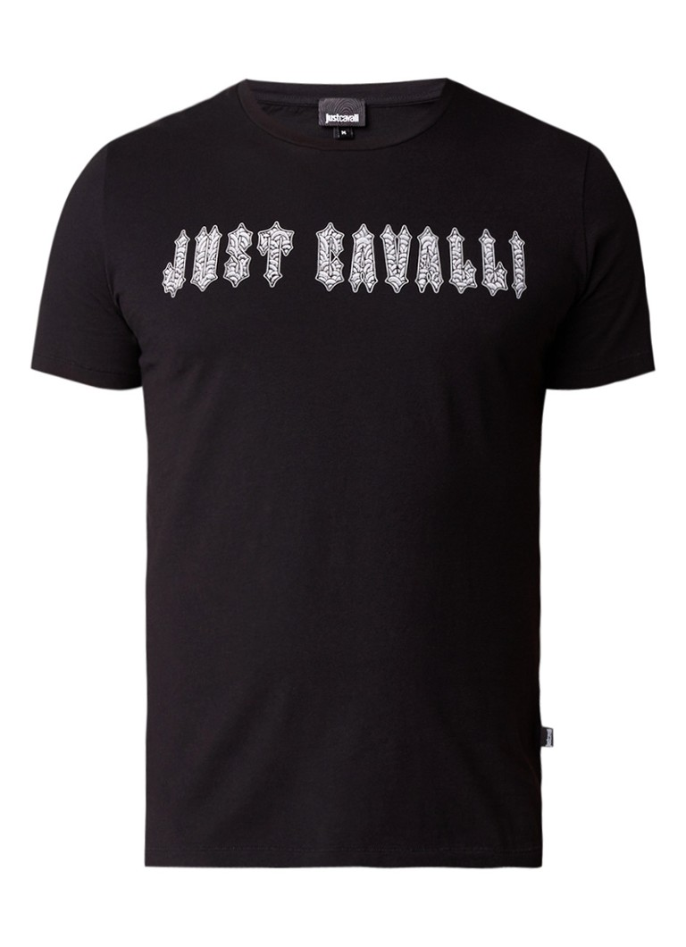 Just Cavalli T-shirt met grafische logoprint
