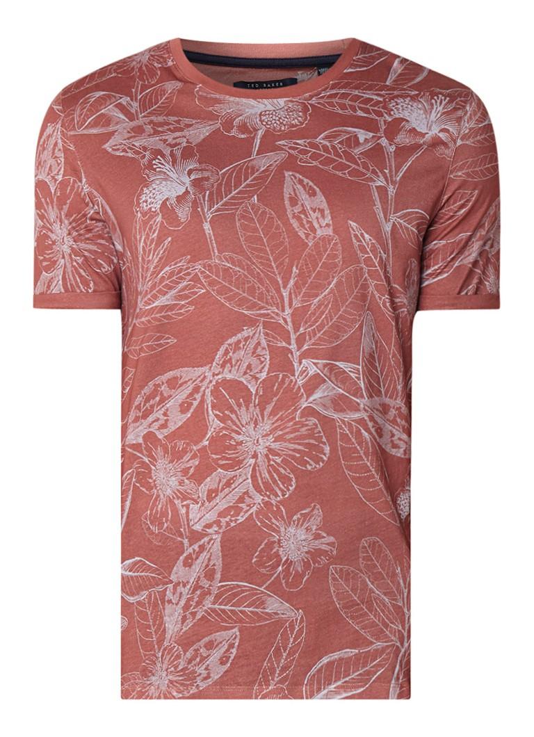Ted Baker Bota T-shirt met bladdessin