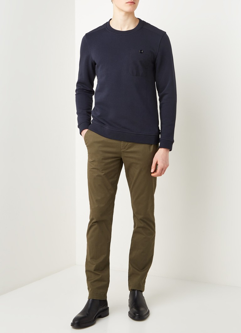 Ted Baker Singer sweater met borstzak