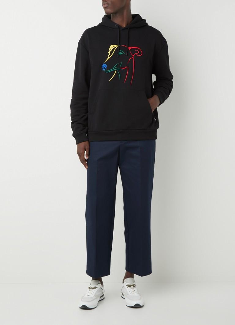 Ted Baker Allbans hoodie met borduring